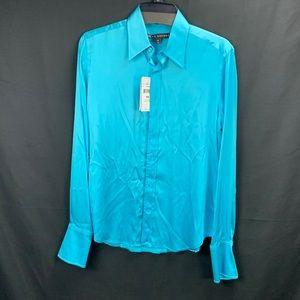 Women's Ralph Lauren Silk button down shirt